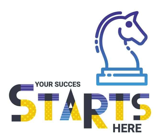 ההצלחה שלך מתחילה מכאן