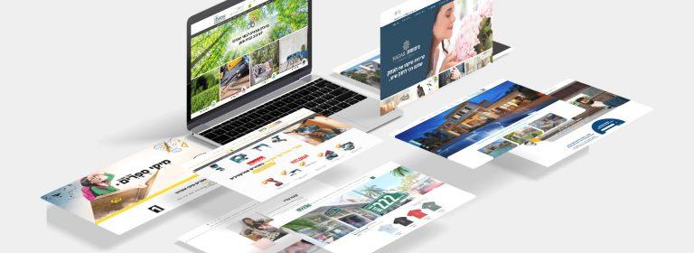 עיצוב אתר תדמית